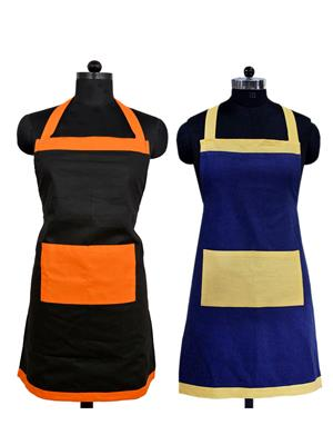 Switchon BST-BLKORG-BLUYC03 Multicolored Apron Combo