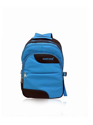 Switchon BST-BLUCHK-LP17 Black Blue Laptop backpack bags
