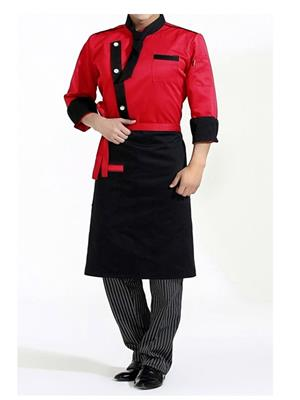 Switchon BST-WaistblkR01 Black Apron