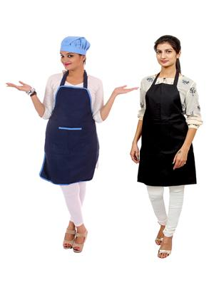 Switchon BST-combo2-blk-blu Multicolored Apron Combo