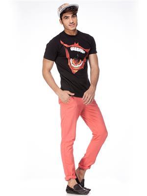 Batman JK1CMT726 Men Black T-Shirt
