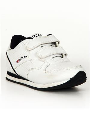 Escan BWES410265-1 White Baby Boys Sports Shoes