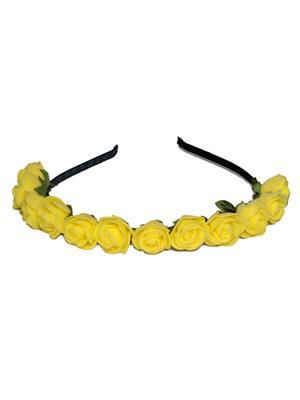 Bangle Art By-1 Yellow Women Hair Band