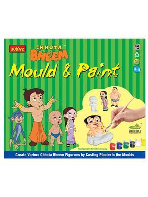 Buddyz BZ166 Chhota Bheem Mould and Paint