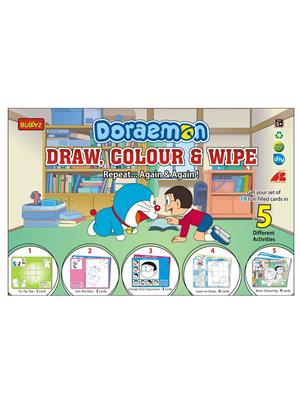 Buddyz BZ181 Doraemon Draw, Color and Wipe