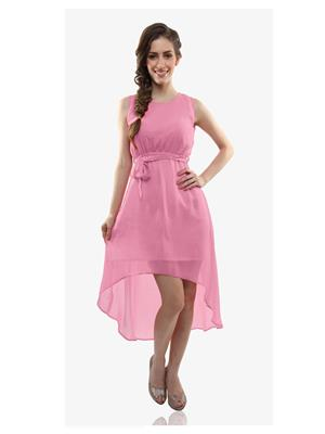 The Shopoholic Baby Pink Women Dresses