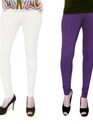 Boofa Bl1016 purple-white  Women Legging