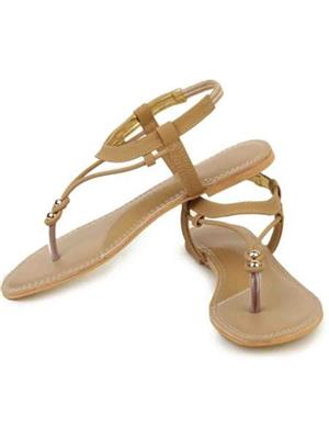 Caper India c01  Brown women Flats
