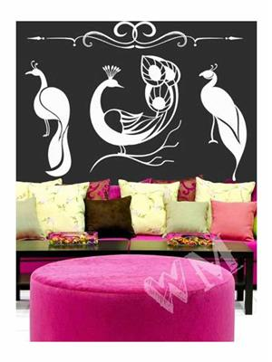 Wallmantra C1wmarna016S Multicolored Wall Stickers