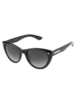 Rafa CATWALK-BLK Black Unisex Cateye Sunglasses