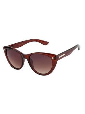 Rafa CATWALK-BRN Brown Unisex Cateye Sunglasses