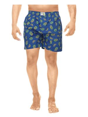 Clickroo CAWS0041S Blue Men Shorts
