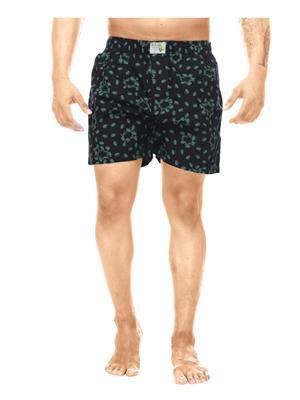 Clickroo CAWS0044S Black Men Shorts