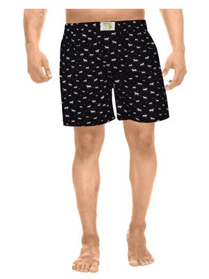 Clickroo CAWS0120S Black Men Shorts