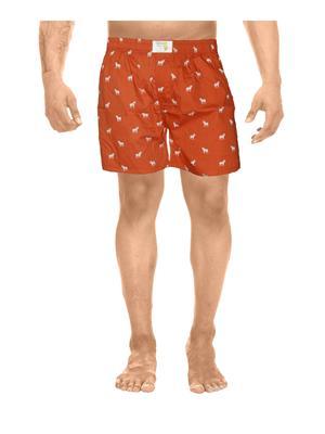 Clickroo CAWS0123S Red Men Shorts