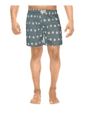 Clickroo CAWS0124S Grey Men Shorts