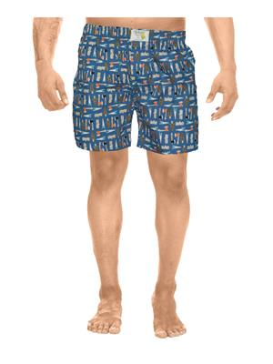 Clickroo CAWS0125S Blue Men Shorts