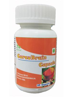 Hawaiian-Herbal Ccbc72 Curcubrain Capsule Ayurvedic & Organic