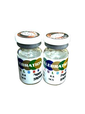 Celebration Yearly Disposable Gray Contact Lens