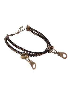 Crunchy Fashion CFA0004  Zipper Women Anklet