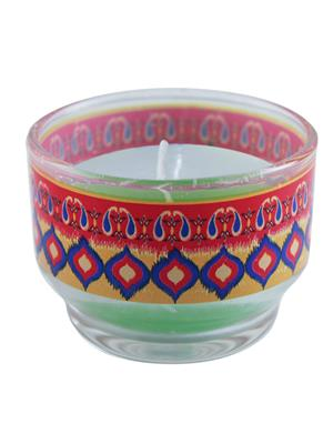Kolorobia CHIKT10 Splendid Ikat Candle Holder