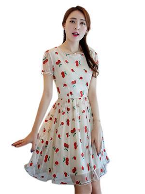 The Shopoholic CHINA Cream Women Dresses