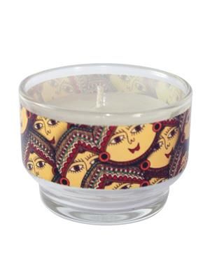 Kolorobia CHM01 Exclusive Madhubani Candle Holder