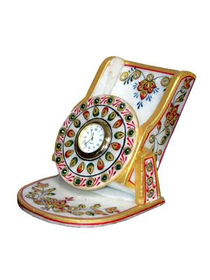 Chitrahandicraft Multicolor  Marble Ambossed Mobile Stand