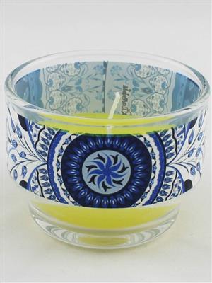 Kolorobia CHTUB13 Turkish Blue Candle Holder