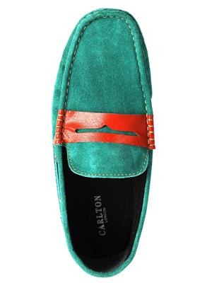 Carlton London CLM-1110  Green Men Shoe