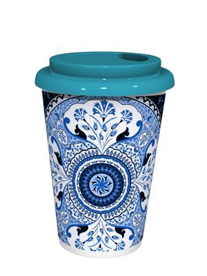 Kolorobia CMGTUB07 Turkish Blue Café Mug