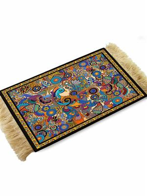 Kolorobia CMP02 Peacock Exotic Coffee Table Mat