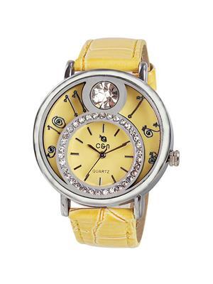 Chappin & Nellson CN-10-L-Yellow Women Wrist Watch