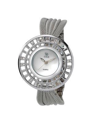 Chappin & Nellson CN-L-77-MOP-White Women Wrist Watch
