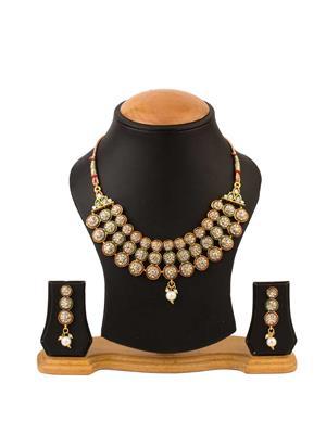 Quail CNJE1 2 Gold Necklace Sets
