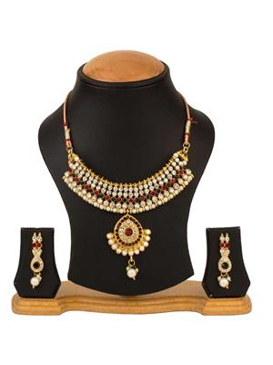 Quail CNJP2 2 Gold Necklace Sets