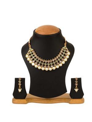 Quail CNJP3 2 Gold Necklace Sets