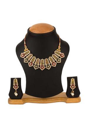 Quail CNJR5 2 Gold Necklace Sets