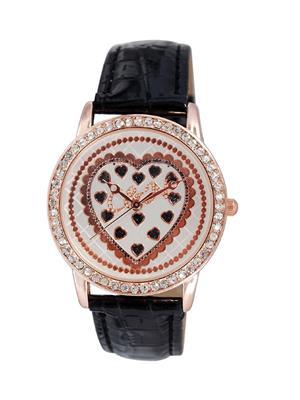 Chappin & Nellson CNL-71-RG-Black Women Wrist Watch