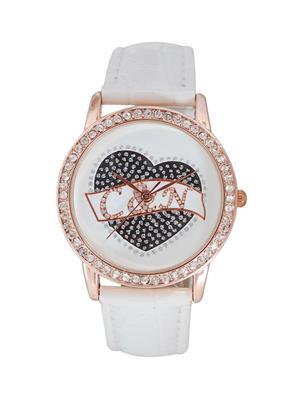 Chappin & Nellson CNL-74-RG-White Women Wrist Watch
