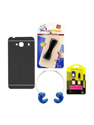 Mify 14-755 Black Back Cover Xiaomi Redmi Mi 2 Combo Pack