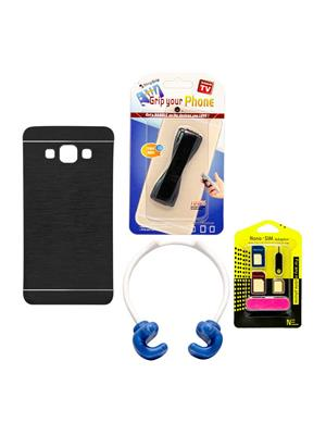 Mify 14-767 Black Back Cover Samsung Galaxy A7 Combo Pack