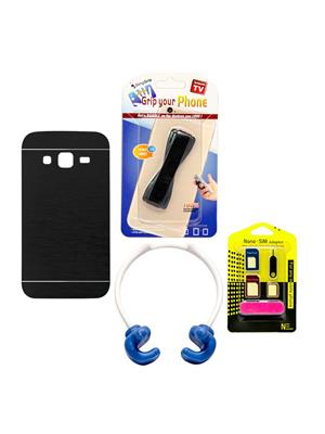 Mify 14-769 Black Back Cover Samsung Galaxy Z1 Combo Pack