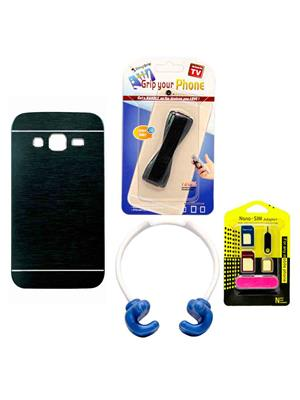 Mify 14-890 Blue Back Cover Samsung Galaxy Grand 2 Combo Pack