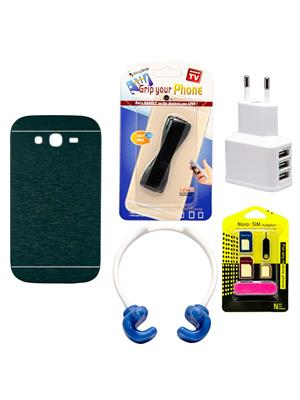 Mify 19-1195 Blue Back Cover Samsung Galaxy Grand I9082 Combo Pack