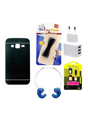Mify 19-1207 Blue Back Cover Samsung Galaxy Core Prime Combo Pack