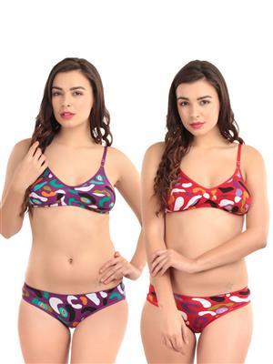 Abelino Multicolored Women Lingerie Set Of 2