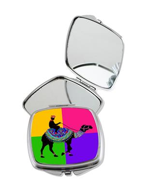 Kolorobia Radiant Camel Compact Mirror