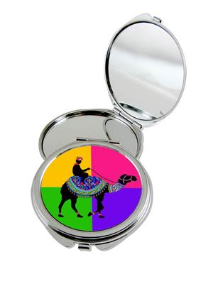 Kolorobia Grand Camel Compact Mirror