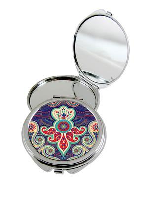 Kolorobia Lovely Paisley Compact Mirror
